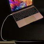 MacBookまで這わせたコード
