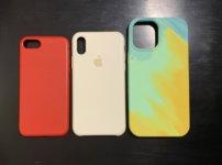 iPhone12promax、Xs、6のケースの大きさを比較